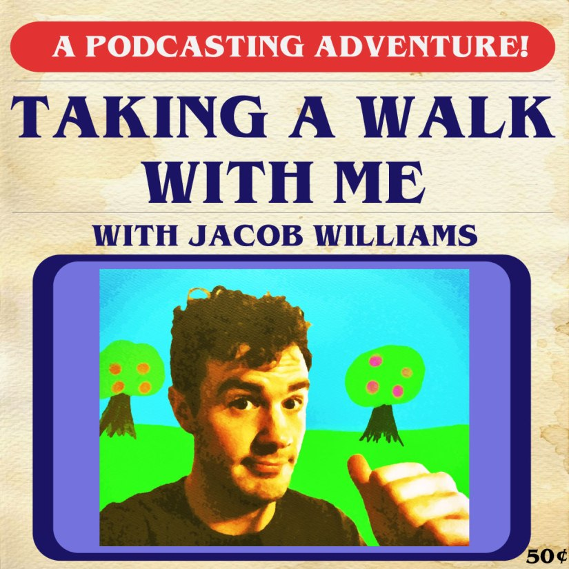 Taking a Walk With Me #2: Christopher Scott! (NOW ON YA iPHONE)